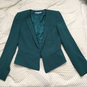 Antonio Melani Blazer Green Fitted Workwear Office